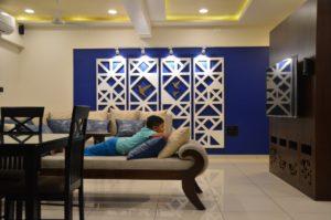 Pratham Bluets Apartment Interiors